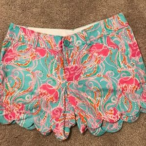 Lilly Pulitzer Jellies Be Jammin Buttercup Shorts